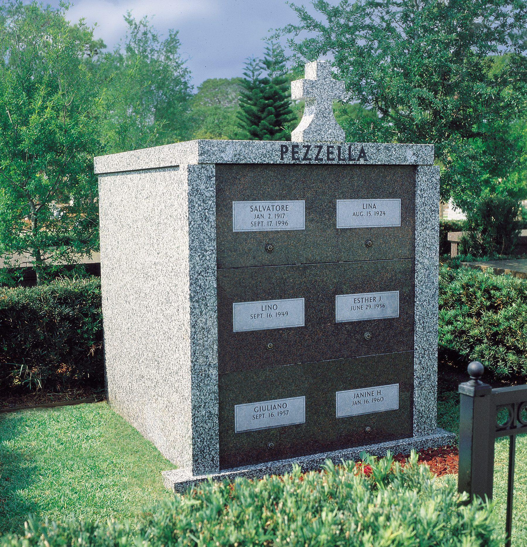 Evans Cemetery Monument