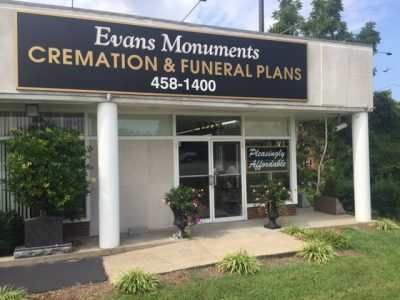 Evans Monuments and Family Cremation Care